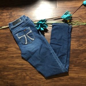 7 For All Mankind sequined jeans Size 2
